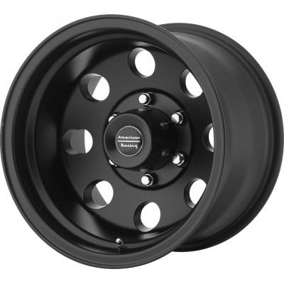 American Racing AR172 BAJA Satin Black Wheel (15