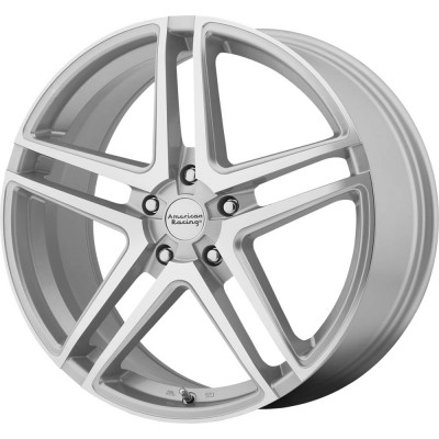 American Racing AR907 Bright Silver Machined Face Wheel (16