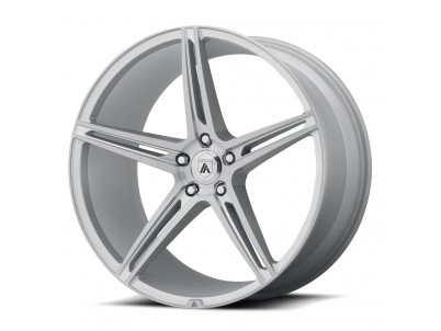 Asanti Black Abl22 Alpha 5 Brushed Silver Wheel vzn101707