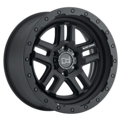 Black Rhino Barstow Textured Matte Black Wheel (17