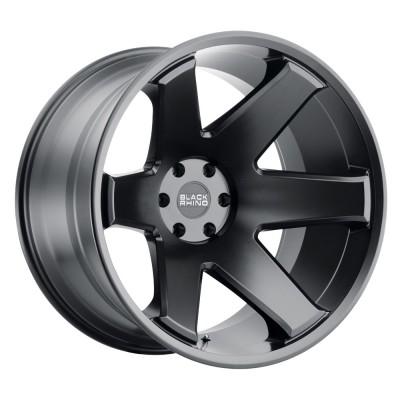 "Black Rhino Raze Matte Black (17"" x 10"", -44 Offset, 5x127 Bolt Pattern, 71.5 mm Hub) vzn106859"
