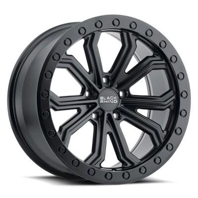"Black Rhino Trabuco Matte Black (18"" x 8"", +25 Offset, 5x120 Bolt Pattern, 76.1 mm Hub) vzn107097"