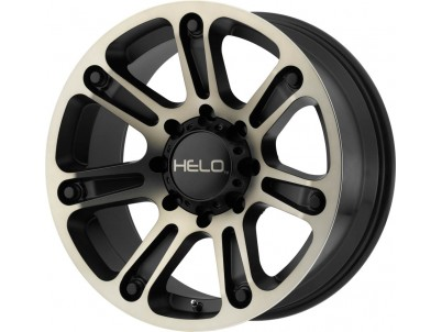 Helo He904 Satin Black Machined Dark Tint Wheel vzn101807