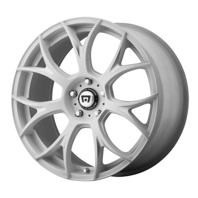 Motegi MR126 Matte White With Milled Accents Wheel (19
