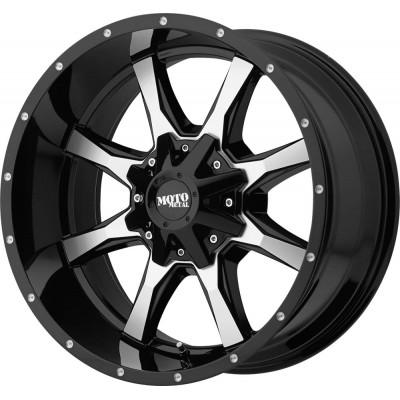 Moto Metal MO970 Gloss Black Machined Face Wheel (16