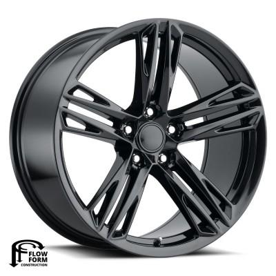 """1LE Camaro Gloss Black (20"""" x 10"""", +35 Offset, 5X120 Bolt Pattern, 66.9 mm Hub) vzn104813"""