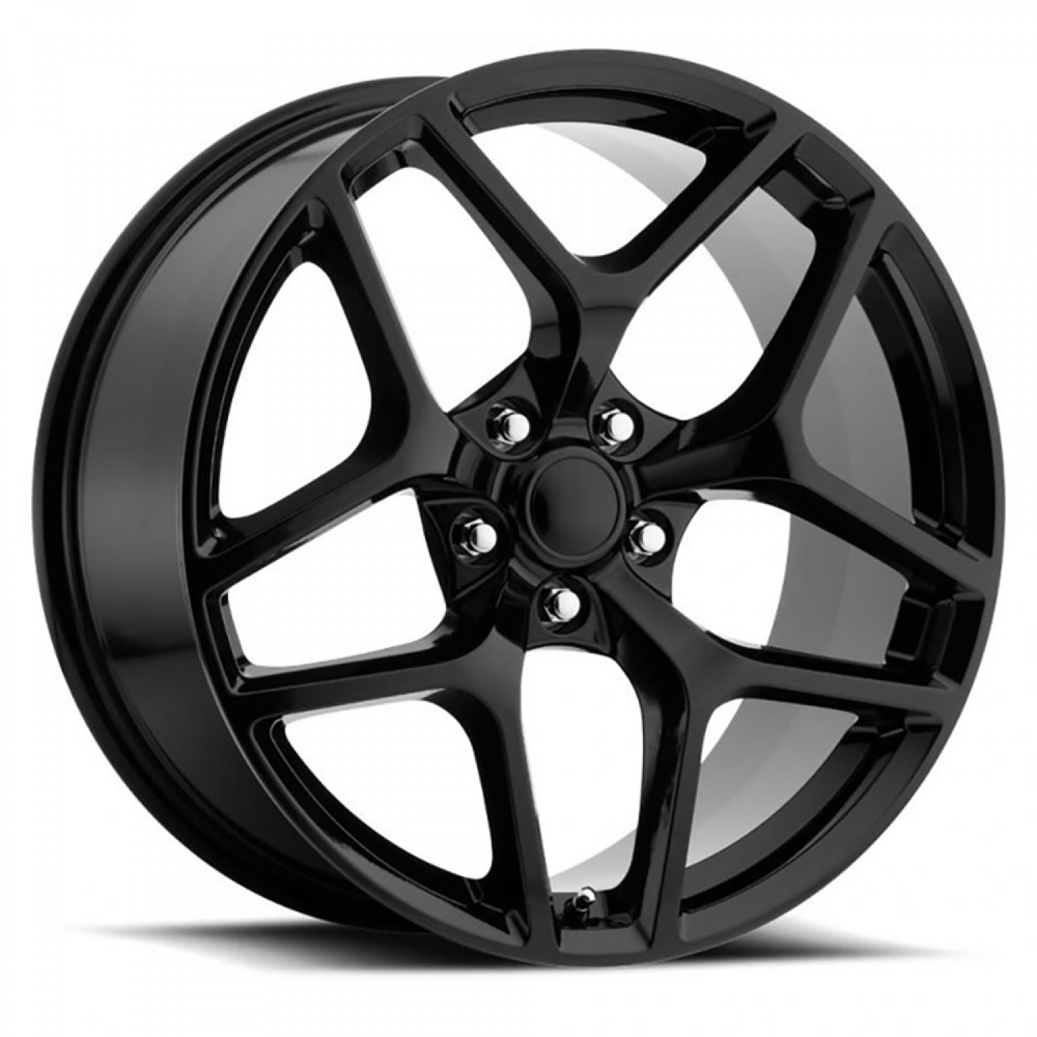 Z28 Camaro Replica Wheels Gloss Black vzn100753