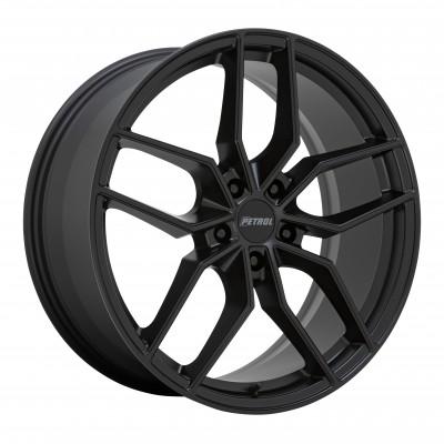 "Petrol P5C MATTE BLACK (17"" x 8"", +35 Offset, 5X120 Bolt Pattern, 76.1 mm Hub)"