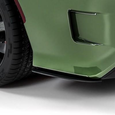 Vicrez 1R Rear Bumper Side Splitters vz102375 | Dodge Charger 2008-2021