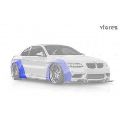 Vicrez VZ WideBody Fender Flares Kit vz100348 | BMW 3 Series/ M3 E92 E93 2007-2013