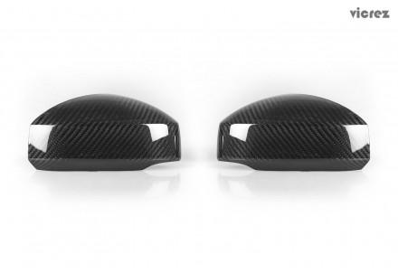 Vicrez Carbon Fiber Mirror Covers vz101154 for Nissan 350z 2003-2008