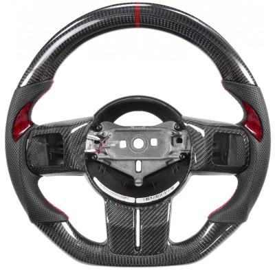 Vicrez Carbon Fiber OEM Steering Wheel vz102065 | Jeep Wrangler JK | Cherokee | Patriot 2011-2018