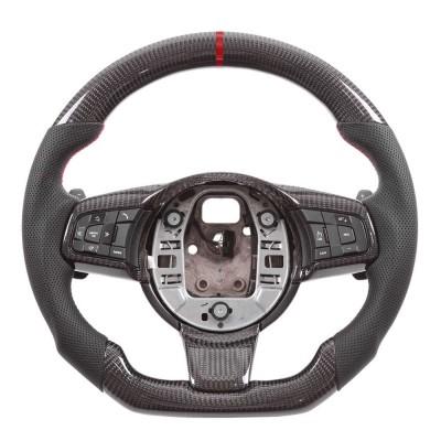Vicrez Carbon Fiber OEM Steering Wheel vz102210 | Jaguar F-Type | E-Pace 2014-2020