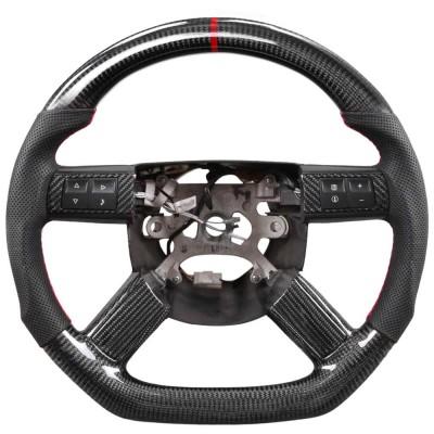 Vicrez Carbon Fiber OEM Steering Wheel vz102340 | Dodge Challenger 2005-2010