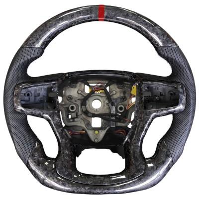 Vicrez Carbon Fiber OEM Steering Wheel vz102362 | Chevrolet Silverado 2019-2021