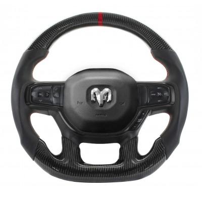 Vicrez Carbon Fiber OEM Steering Wheel vz102403 | Dodge RAM TRX 2021-2023