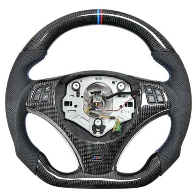 Vicrez Carbon Fiber OEM Steering Wheel vz102420 | BMW M3 E90 E92 E90 /1 Series E82 E87 2008-2011