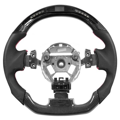 Vicrez Carbon Fiber Steering Wheel +LED Dash Display vz102142 | Nissan 350z 2003-2008