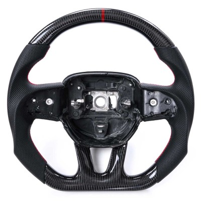 Vicrez Custom OEM Carbon Fiber Steering Wheel vz101785 | Dodge Charger 2015-2020
