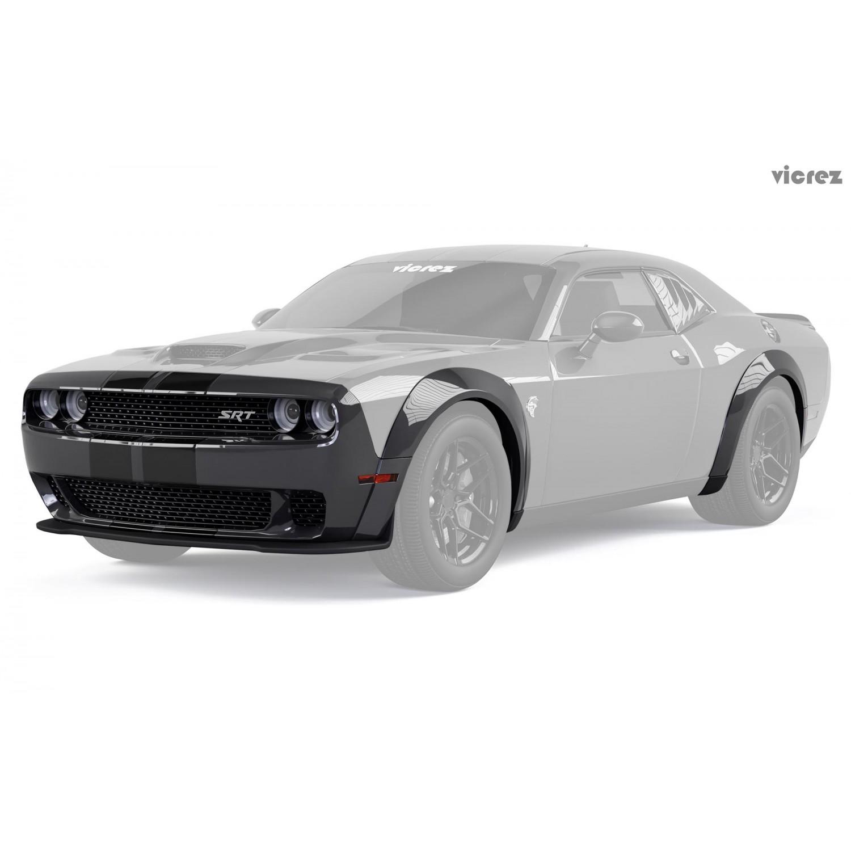 Vicrez Demon Wide Body Kit Vz101768 Dodge Challenger 2008 2019