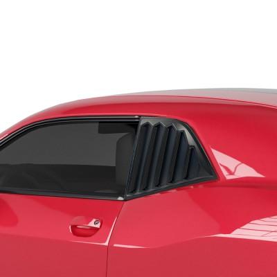 Vicrez LV Style Quarter Window Louvers vz100861 | Dodge Challenger 2008-2019