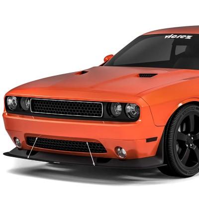 Vicrez VZ Style Front Bumper Splitter vz100659 | Dodge Challenger 2008-2014