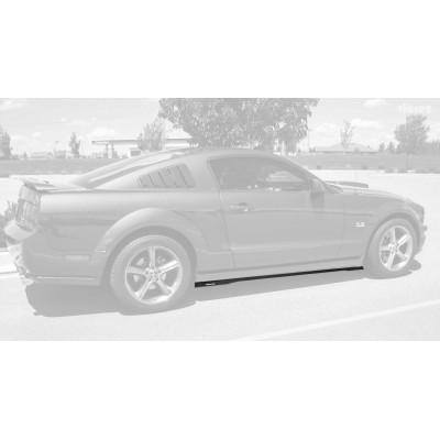 Vicrez Ford Mustang 2005-2014 VZ Style Side Skirt Splitters vz100645