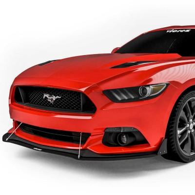Vicrez VZ Front Bumper Lip Splitter vz100597 | Ford Mustang 2015-2017