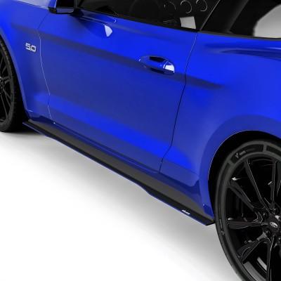 Vicrez Side Skirt Splitters vz100598   Ford Mustang 2015-2017