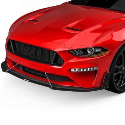 Vicrez LV style Front Bumper Lip Splitter vz100957 | Ford Mustang 2018-2020