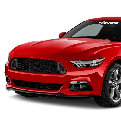 Vicrez Front Top Grille W/ LED Lights vz102177 | Ford Mustang 2015-2017