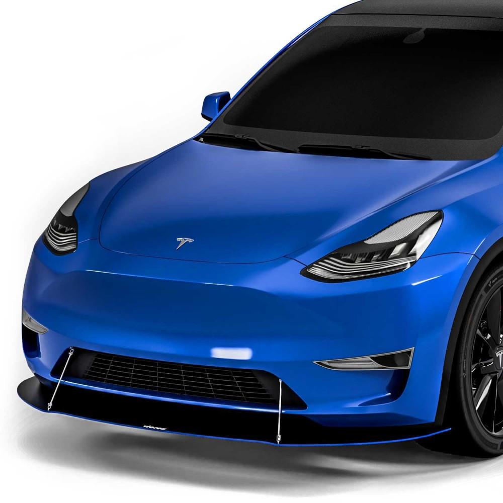 Vicrez VR1 Front Splitter vz102388 | Tesla Model Y 2020-2021