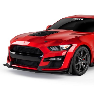 Vicrez GT500 Style Front Bumper Cover vz101815 | Ford Mustang 2018-2021