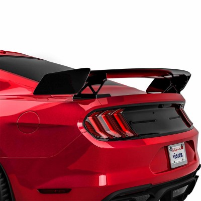 Vicrez GT500 Style Track Pack Rear Wing Spoiler vz102218 | Ford Mustang 2015-2021