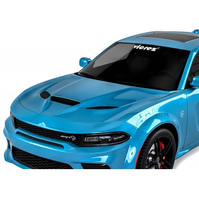 Vicrez Hellcat Style Hood W/ Air Vent Scoop vz101849 | Dodge Charger 2015-2020