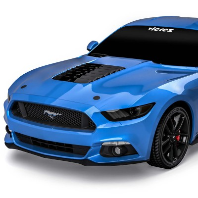 Vicrez Hood W/ Air Vent Scoop GT500 Style vz102168 | Ford Mustang 2015-2017