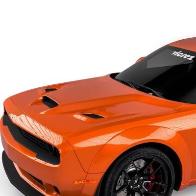 Vicrez Hood W/ Air Vent Scoop Hellcat Style vz102128 | Dodge Challenger 2008-2020