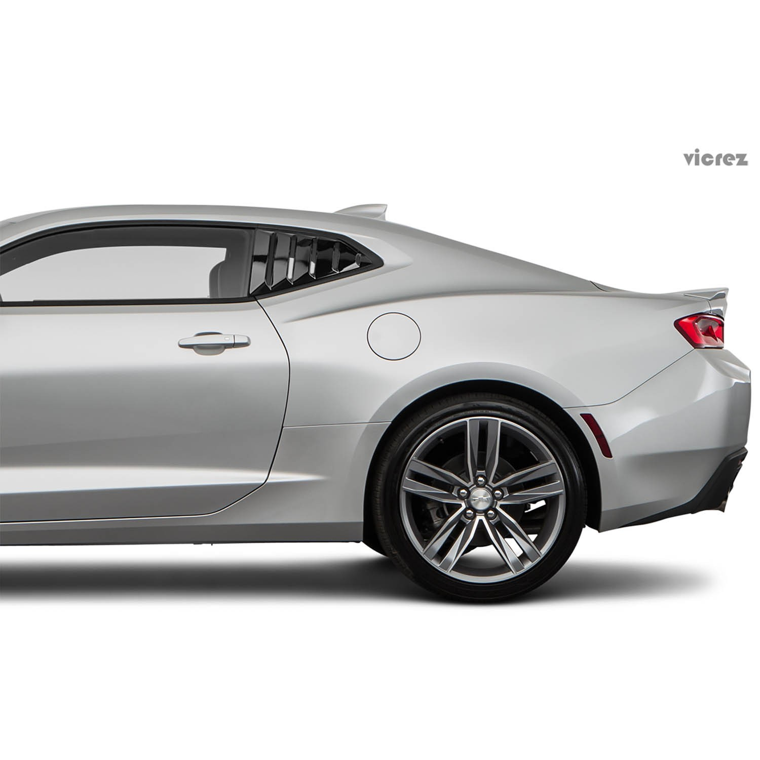 Vicrez LV Quarter Window Louvers vz101691 | Chevrolet Camaro 2016-2019