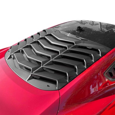Vicrez LV Style Rear Window Louvers vz101685 | Ford Mustang 2015-2021