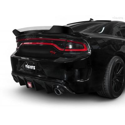 Vicrez LVZ Style Rear Diffuser vz101710 | Dodge Charger SRT/Scat Pack 2015-2020