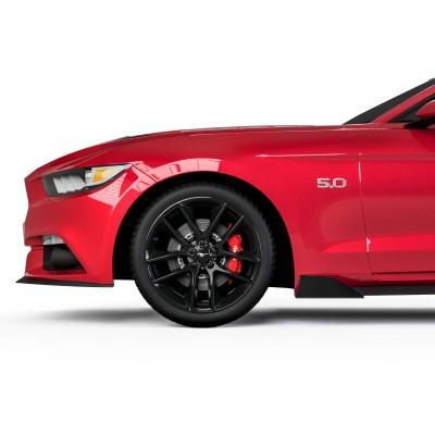 Vicrez MLC Style Rocker Panel Winglets vz101831 | Ford Mustang 2015-2020