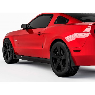 Vicrez Mud Flaps Front & Rear Set vz101588 | Ford Mustang 2010-2014
