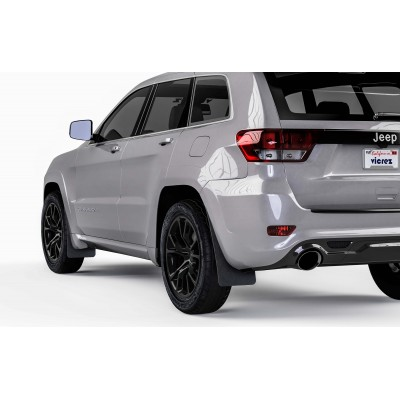 Vicrez Mud Flaps Front & Rear vz101622 | Jeep Grand Cherokee 2011-2019