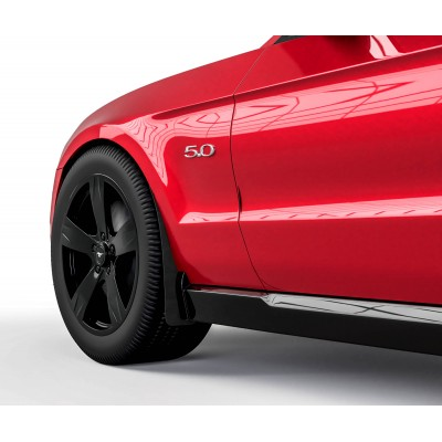 Vicrez Mud Flaps Front Set vz101589 | Ford Mustang 2010-2014