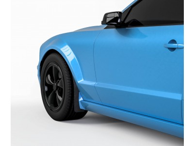 Vicrez Mud Flaps Front Set vz101586 | Ford Mustang 2005-2009