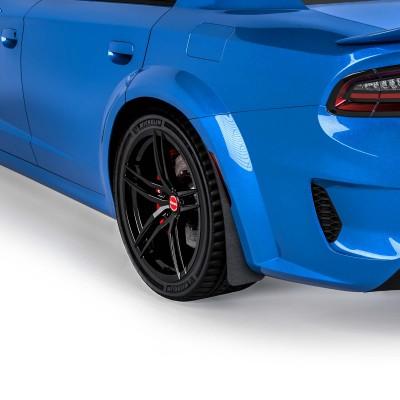 Vicrez Mud Flaps Rear Pair vz102101 | Dodge Charger Widebody 2020-2021