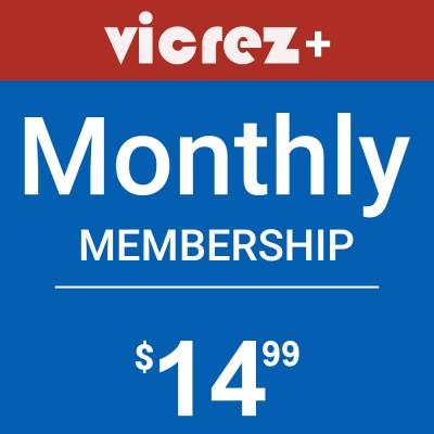 Vicrez+ Monthly Membership