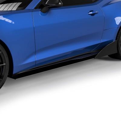 Vicrez Side Skirt Splitters VZR1 Style vz102165 | Chevrolet Camaro 2016-2020