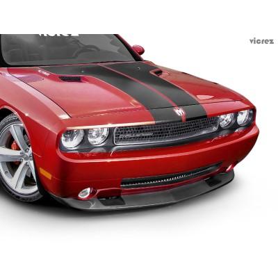 Vicrez SRT8 Style Front Bumper Chin Lip vz101794 | Dodge Challenger 2008-2010