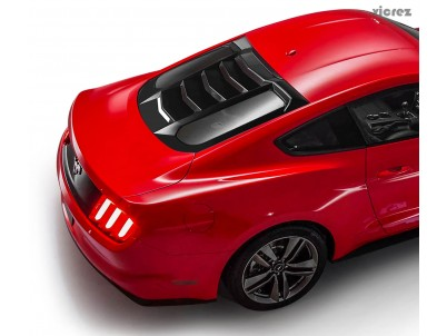 Vicrez UT Style Rear Window Louvers vz101693| Ford Mustang 2015-2020